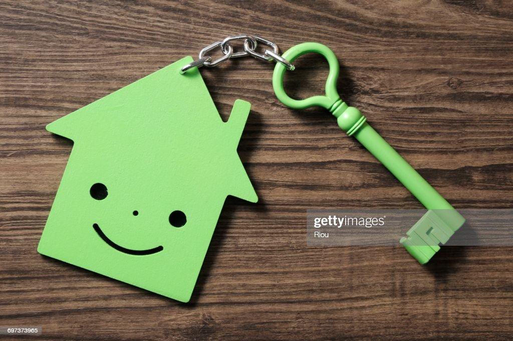 house and key : ストックフォト