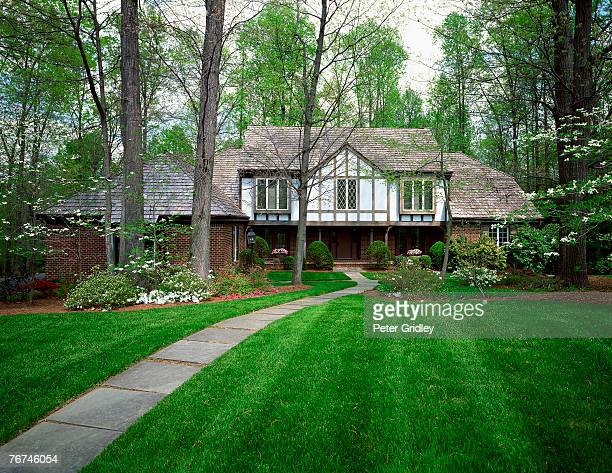 House and lawn