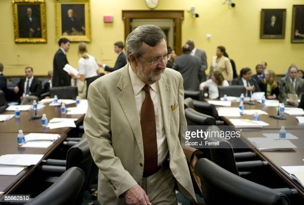 House Appropriations Chairman David R Obey DWis arrives for the markup of State and Foreign Operations and Military Construction/Veterans...