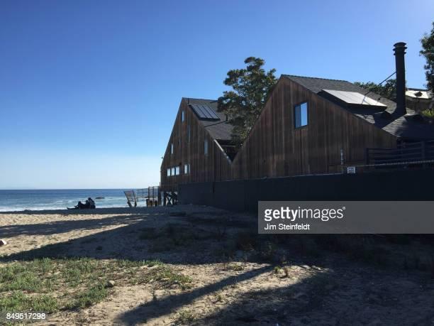 House at Malibu Colony beach in Malibu California on October 11 2015