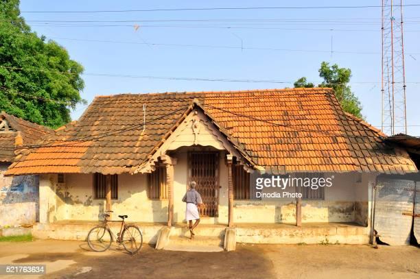 House at suchindram, tamilnadu, india, Asia