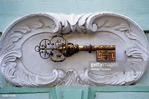 House at the Golden Key, Prague, Czech Republic