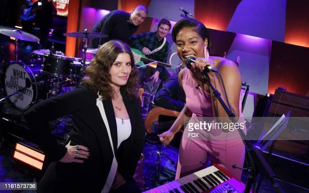 House band Best Coast and guest star Tiffany Haddish behind the scenes in the Parents episode of WHAT JUST HAPPENED WITH FRED SAVAGE airing Sunday...