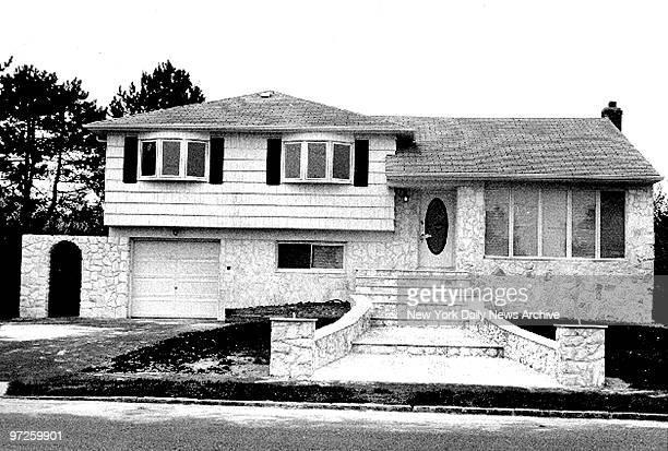 House belonging to John Gotti Jr at 33 Rivera Drive East Massapequa L I