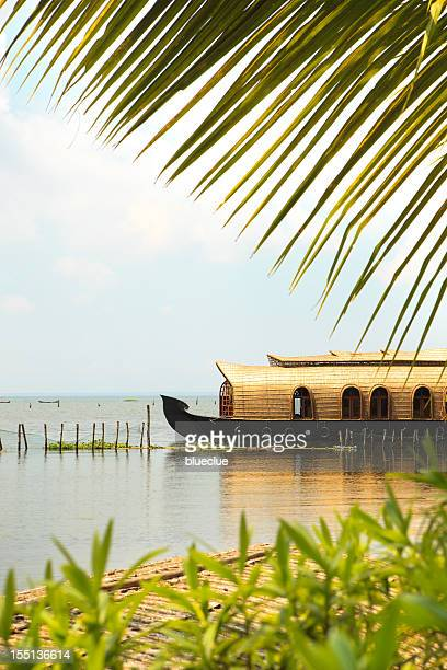 house boat - kerala stock pictures, royalty-free photos & images