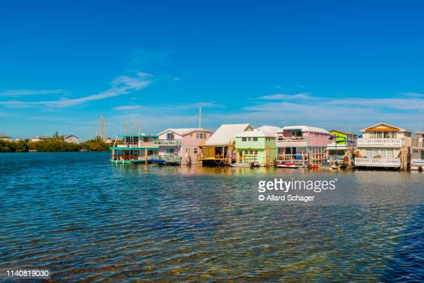 house boats in key west florida usa - key west stock pictures, royalty-free photos & images