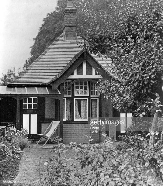 House built by Lawrence of Arabia in his garden at Oxford in England