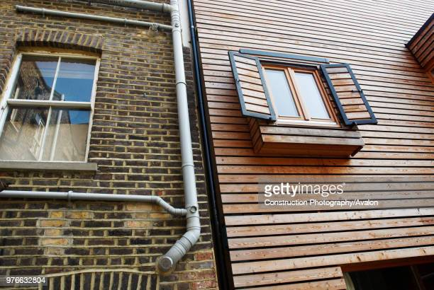 House built with solid wood walls, layered to some six to eight inches thick, forming a breathable skeleton, and allowing the house to create its own...
