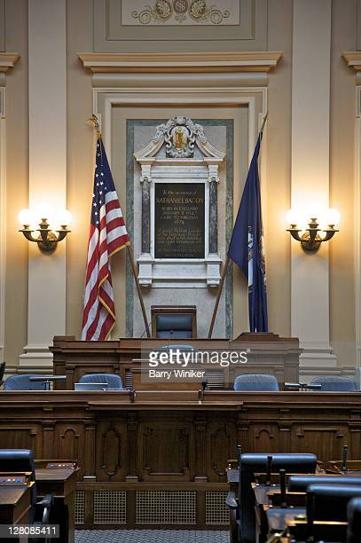house chamber, 190406, virginia capitol, richmond, va, u.s.a. - house of representatives stock pictures, royalty-free photos & images
