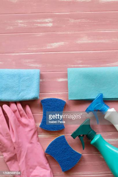house cleaning supplies - clorox bleach stock pictures, royalty-free photos & images