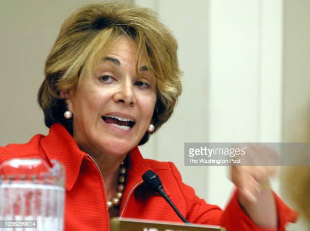 House Committee On Energy and Commerce hearing on the 'Blackout 2003' Congresswoman Anna Eshoo and Energy Secretary Spencer Abraham had a number of...