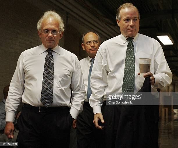 US House Committee on Standards of Official Conduct ranking Democrat Howard Berman Chairman Doc Hastings and and the chairman's advisor Ed Cassidy...