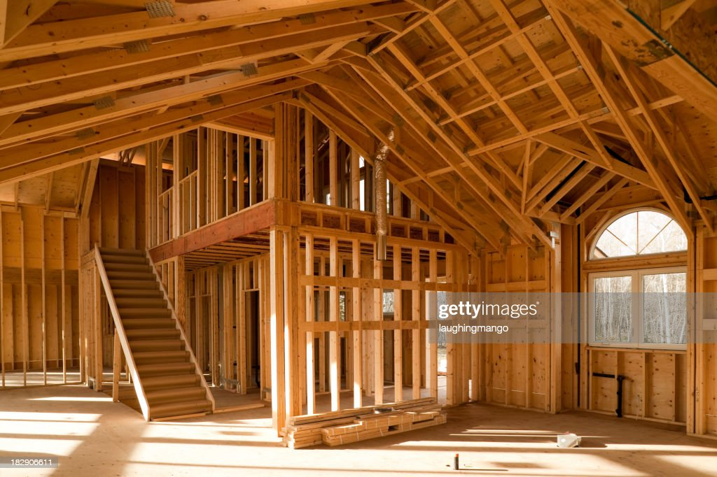 Haus Bau Website : Stock-Foto