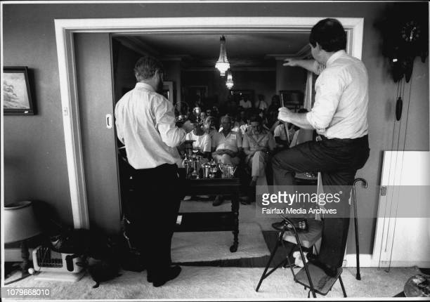House contents being auctioned at Rose Bay by Lawsons auctioneersAuctioneer Phillip Thomas Graham Addison December 9 1991