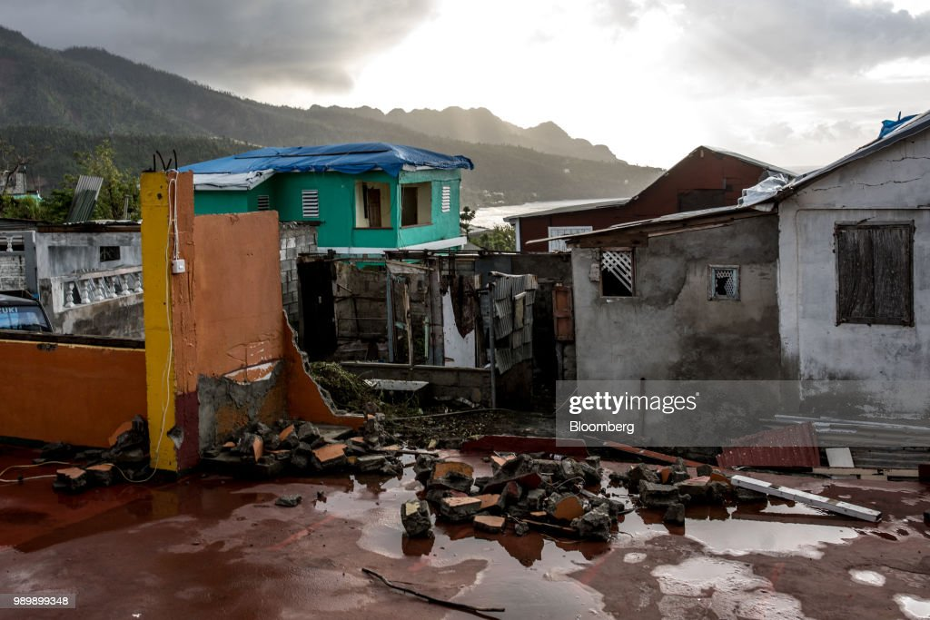 Dominica's Plan To Survive Climate Change Has A Hard Road Ahead : News Photo