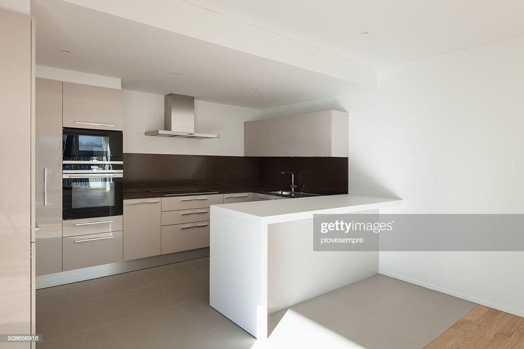 House, domestic kitchen : Stock Photo