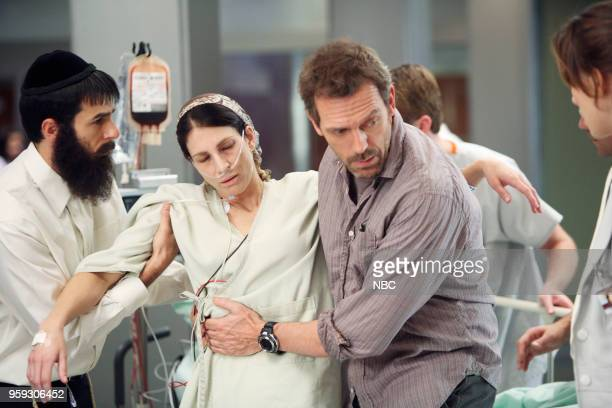 House Don't Ever Change Episode 12 Pictured Eyal Podell as Yonatan Laura Silverman as Roz Hugh Laurie as Dr Greg House