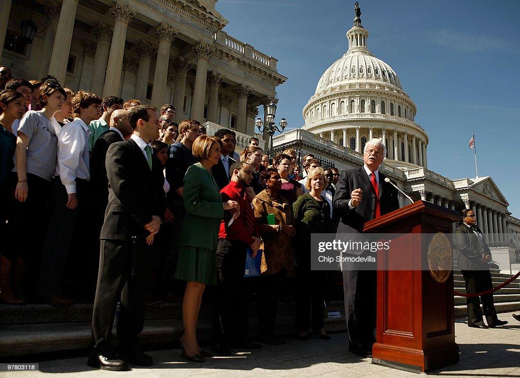 Speaker Pelosi Discusses Health Care And Student Aid