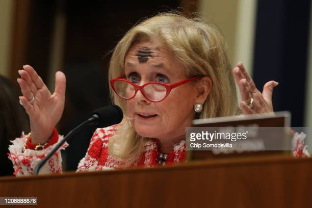 House Energy and Commerce Committee member Rep. Debbie Dingell questions Health and Human Services Secretary Alex Azar during a hearing of the Health...