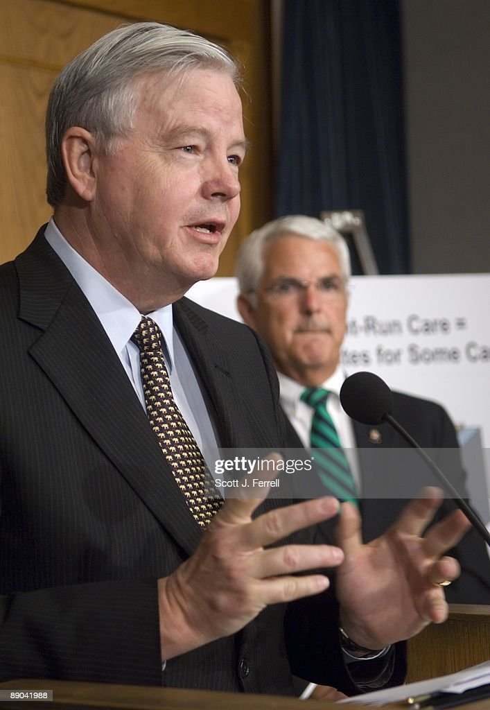 House Energy And Commerce Ranking Member Joe L. Barton, R Texas, And