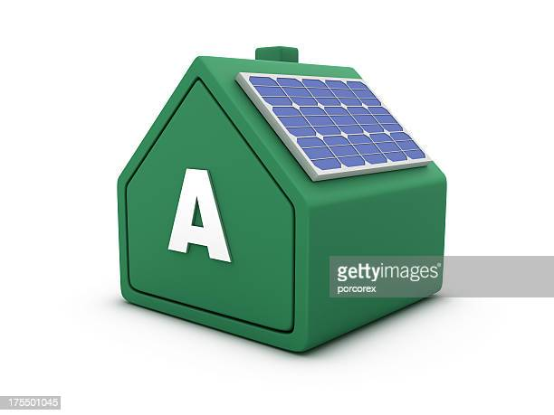 House Energy Efficiency with Solar Panel