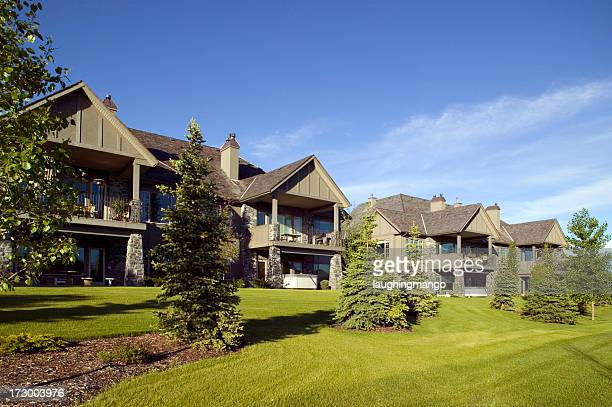 house exterior calgary - calgary stock pictures, royalty-free photos & images