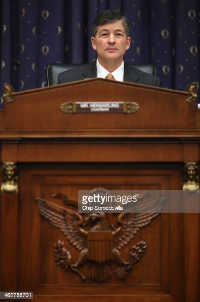House Financial Services Committee Chairman Jeb Hensarling presides over a hearing about the Volker Rule in the Rayburn House Office Building on...