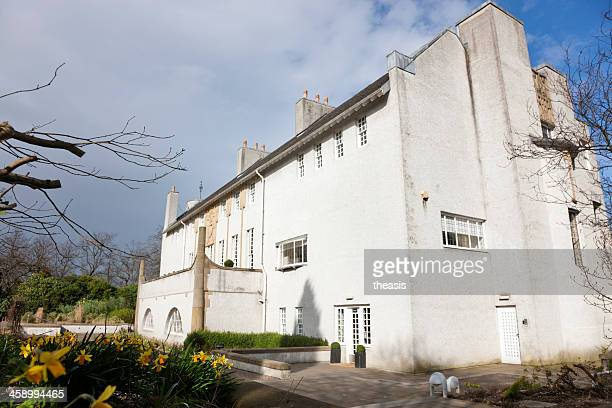 house for an art lover, glasgow - theasis stock pictures, royalty-free photos & images