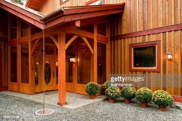 Haus Veranda Türrahmen