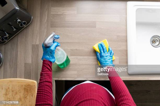 house hygiene in pregnancy - pregnancy stock pictures, royalty-free photos & images