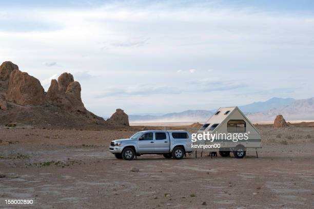 RV house in a wilderness area