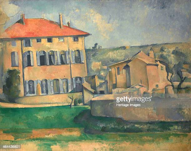 House in Aix 18851887 Found in the collection of the National Gallery Prague