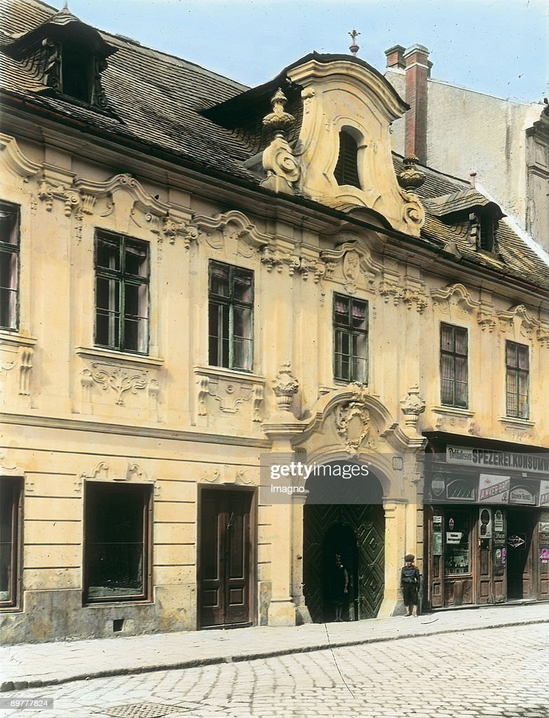 A House In Baroque Style Penzinger Hauptstrasse 43 Vienna 14th District Penzing