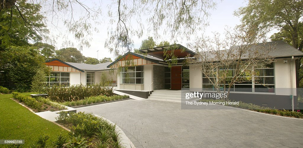 A house in Killara desiged by architect Yvonne Haber, 23 February 2006. SMH Pic : News Photo