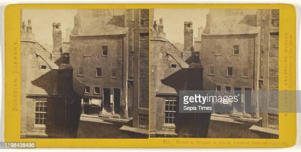 House in Seagate in which Admiral Duncan was born James Valentine 1870s Albumen silver print