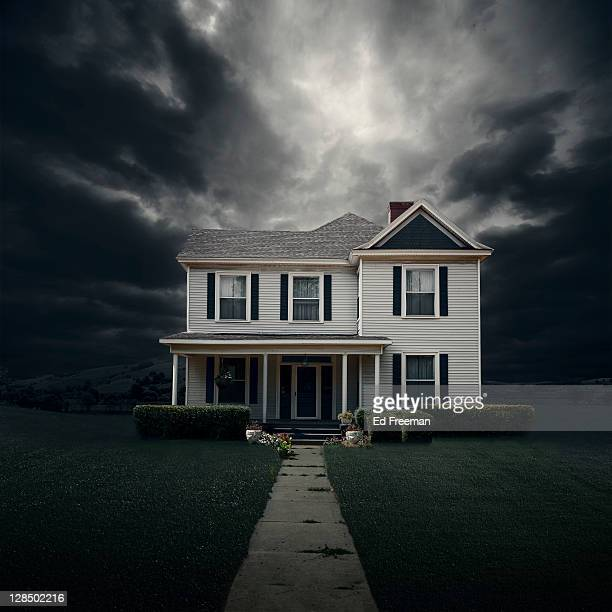 House in Threatening Weather