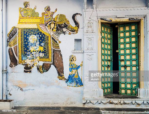 house in udaipur india - udaipur stock pictures, royalty-free photos & images