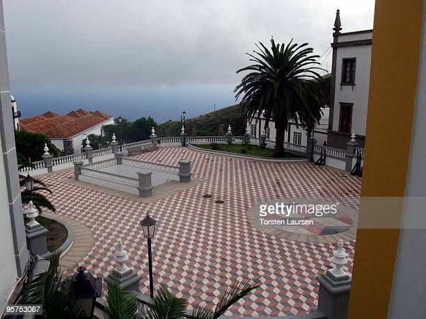 A house in Valverde on El Hierro Island January 13 2010 in El Hierro Island Spain The island inspired and features in the new film 'Hierro' directed...