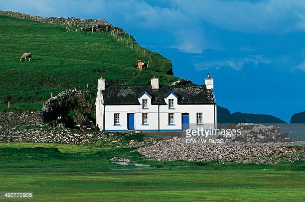 House in Waterville Ring of Kerry County Kerry Ireland