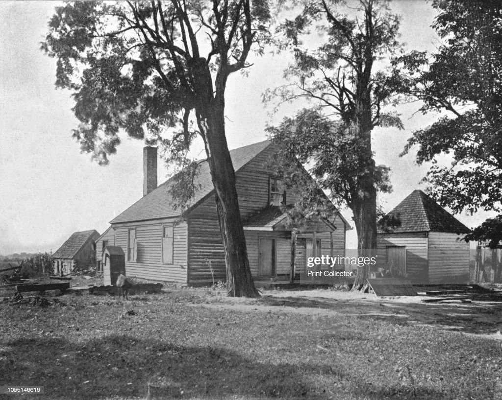 House In Which Stonewall Jackson Died : News Photo