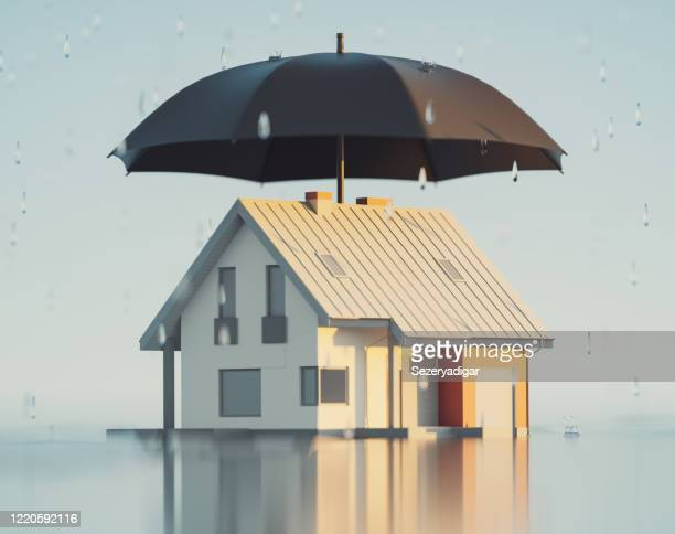 house insurance, 3d render - defending stock pictures, royalty-free photos & images