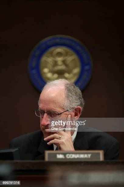 House Intelligence Committee member Rep Mike Conaway who is heading the committee's investigatoin into the Russian intereference in the 2016...