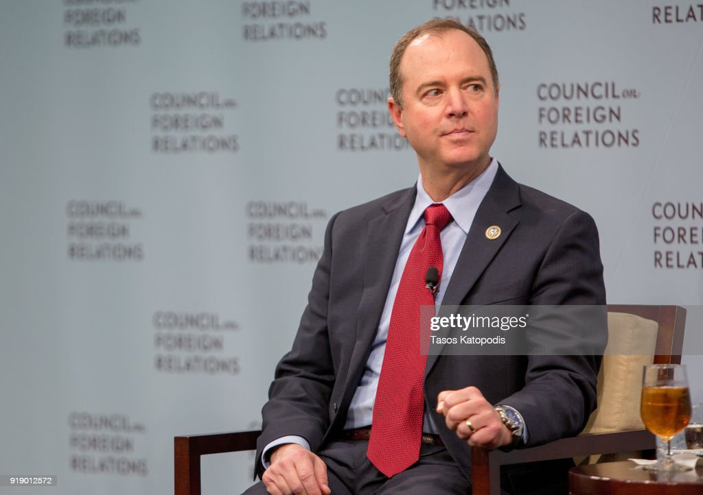 Ranking Democrat On House Intelligence Committee Adam Schiff Speaks At Council On Foreign Relations