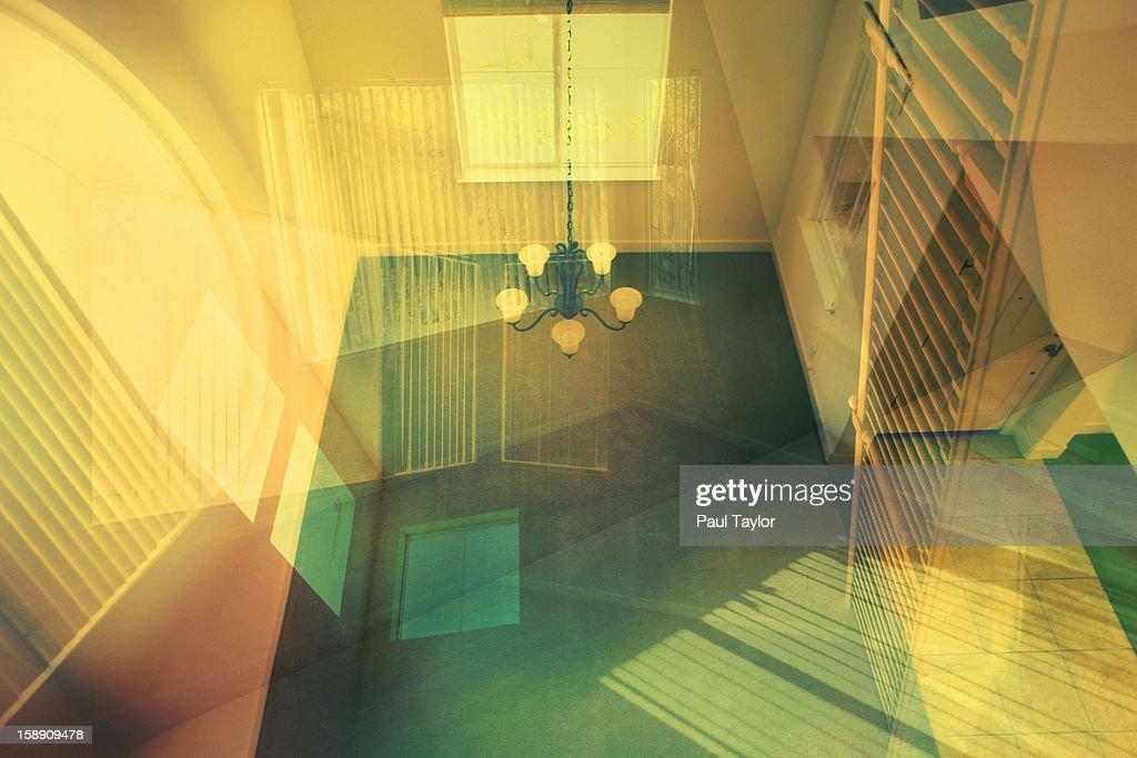 House Interior Collage : Stock Photo