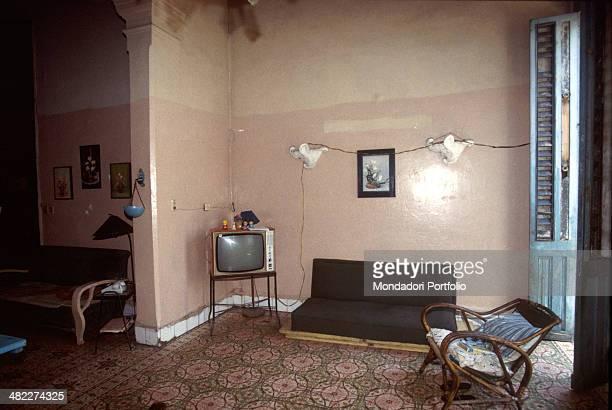 A house interior Havana 1990s