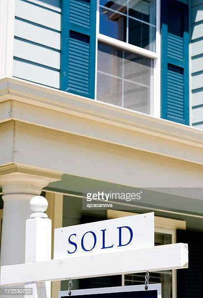house is sold! - sold single word stock pictures, royalty-free photos & images