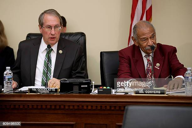 House Judiciary Committee Chairman Bob Goodlatte and ranking member Rep John Conyers hold a hearing to hear from Internal Revenue Service...