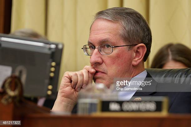House Judiciary Committee Chairman Bob Goodlatte hears testimony about the recent surge of unaccompanied Central American minors who have been...