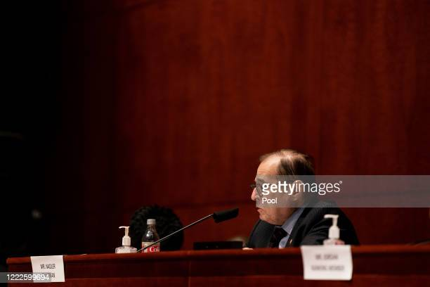 House Judiciary Committee Chairman Jerrold Jerry Nadler presides over a hearing on June 24 2020 in Washington DC Democrats are highlighting what they...