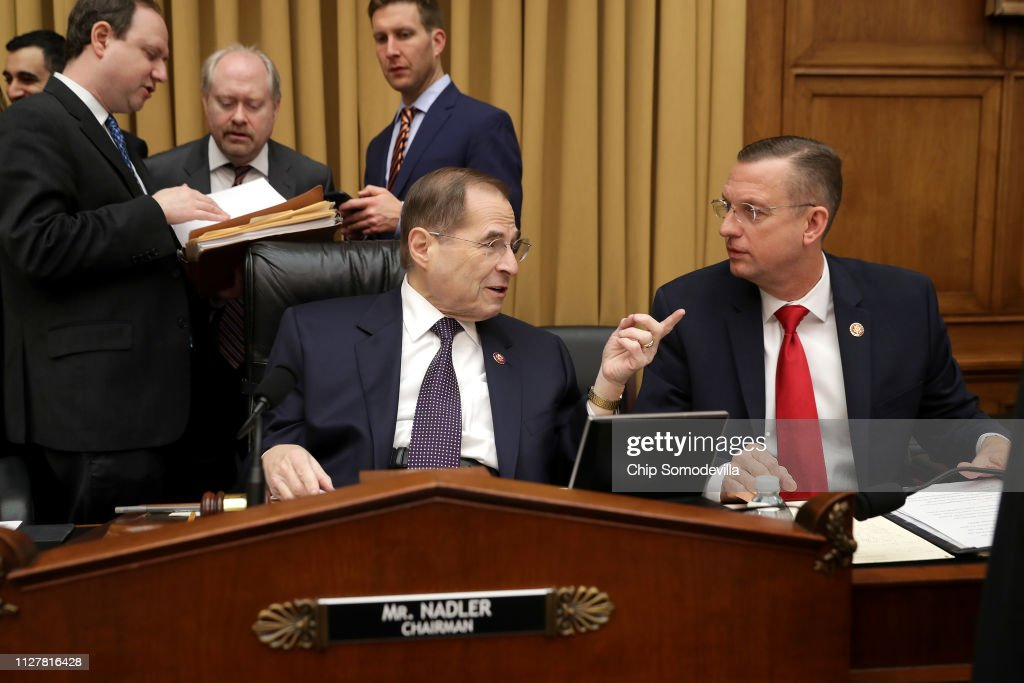 Image result for photos of chairman nadler and judiciary committee members